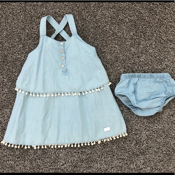 7 For All Mankind Other - 7 for all Mankind Sleeveless Dress - Size 12 M